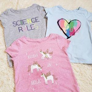 Cat & Jack t-shirt bundle